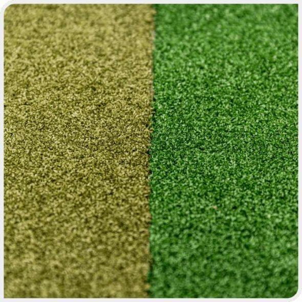 Фото Party декоративный искусственный газон JUTAgrass сравнение сверху цвета