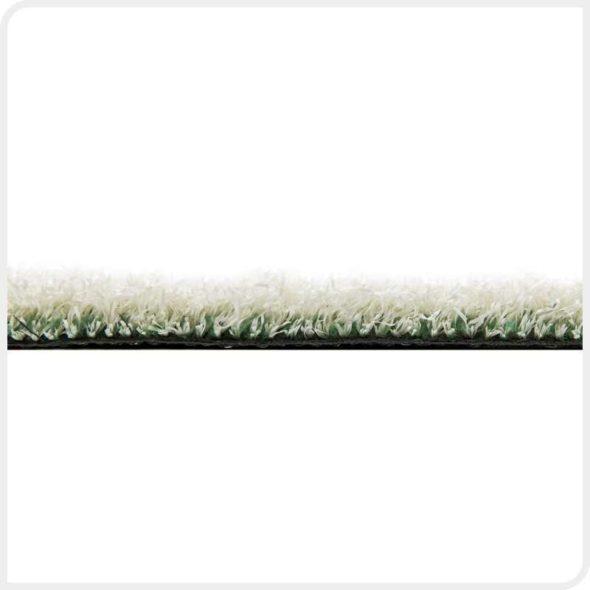 Фото Play Comfort искусственная спортивная трава белого цвета бок