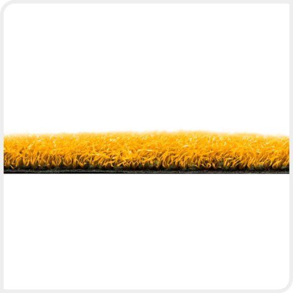 Фото Play Comfort искусственная спортивная трава желтого цвета бок
