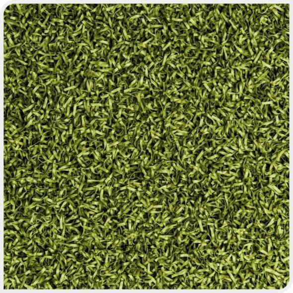 Фото Play Comfort искусственная спортивная трава зеленого цвета сверху
