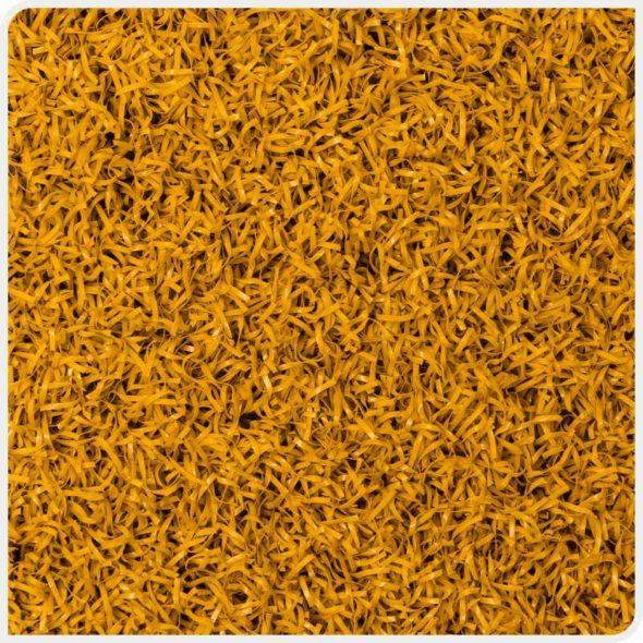 Фото Play Comfort искусственная спортивная трава желтого цвета сверху