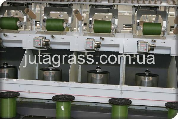Фото завода JUTAgrass на производстве искусственного газона в Чехии Европа