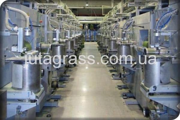 Изображение завода по производству искусственной травы JUTAgrass внутри