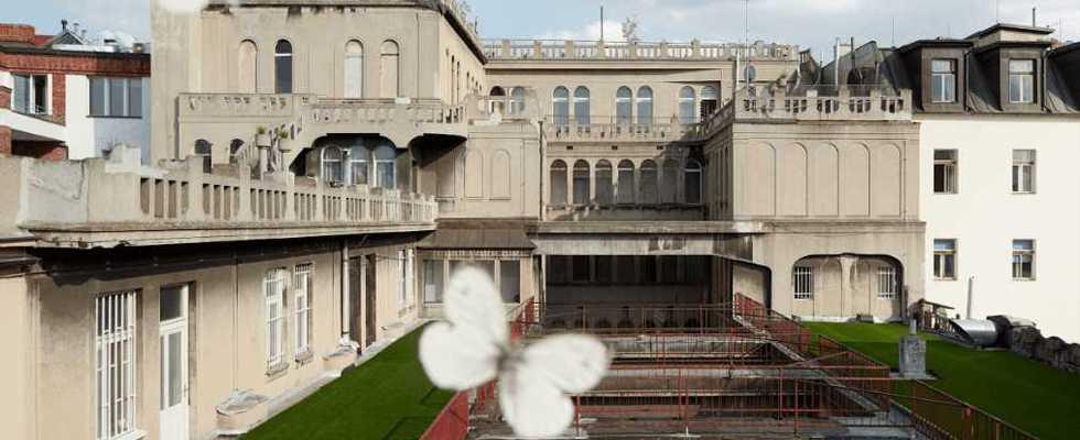 Невероятное сочетание искусственной травы JUTAgrass и величественной архитектуры в сердце Праги