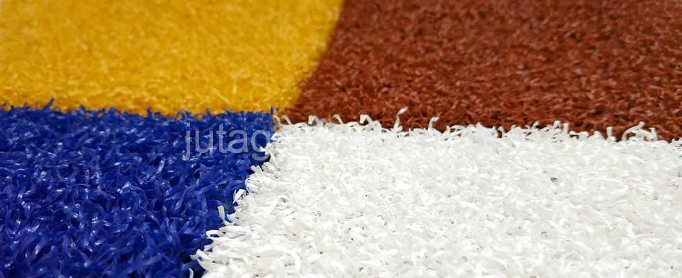 Фото картинка цветной искусственный декоративный газон JUTAgrass