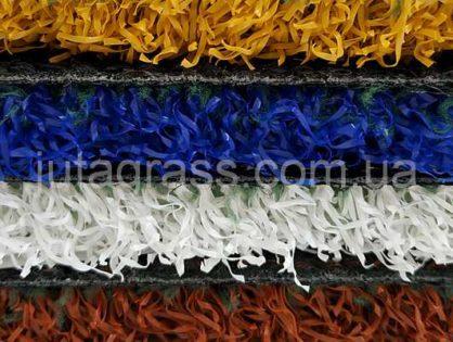 Искусственная трава JUTAgrass (Чехия) дарит нестандартные цвета газонов