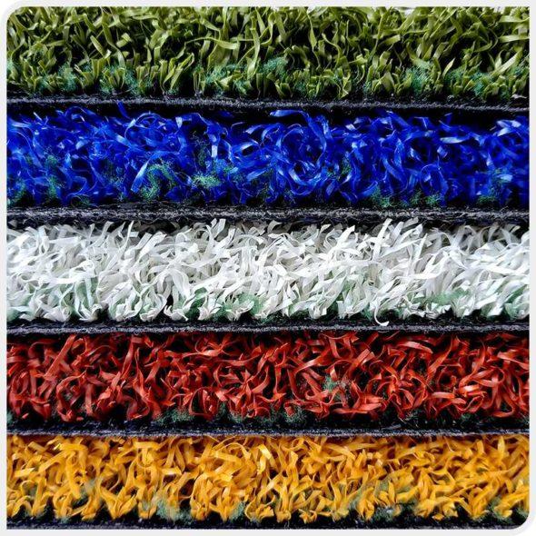 Фото Play Comfort JUTAgrass искусственной спортивной разноцветной травы