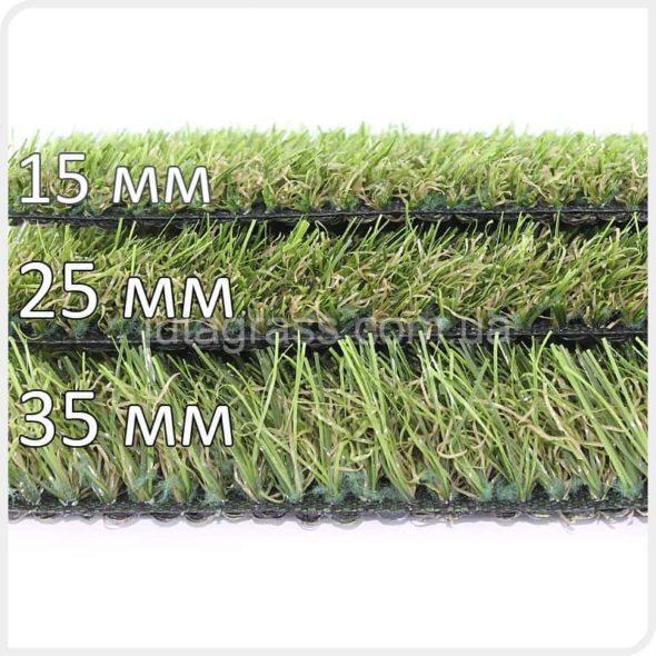 Искусственная трава газон Popular JUTAgrass для декора