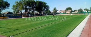 Комплексные работы по благоустройству школьного мини-футбольного стадиона