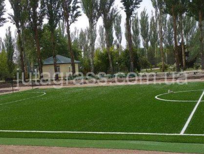 Мини-футбольное поле с искусственной травой JUTAgrass для детского лагеря
