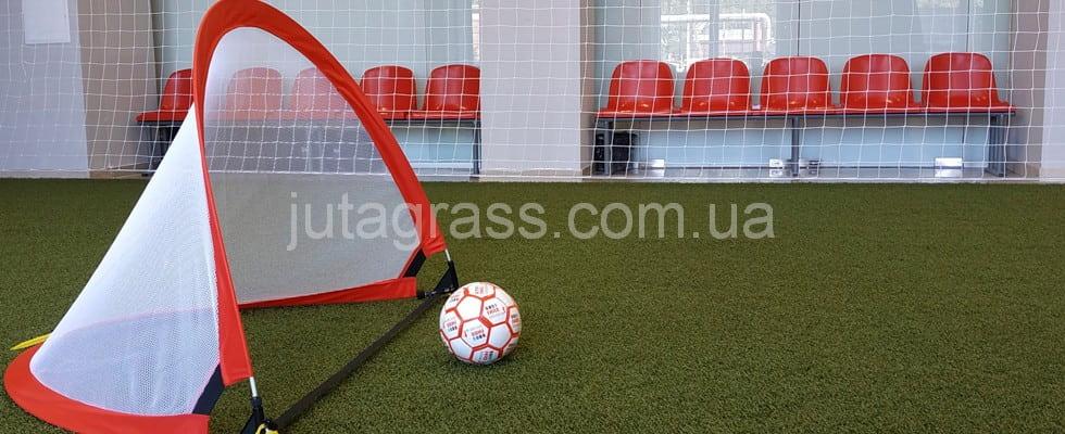 Новые футбольные тренировочные поля для детей с искусственным газоном JUTAgrass