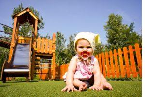 Искусственная трава JUTAgrass (Чехия) - лучший выбор для детских площадок